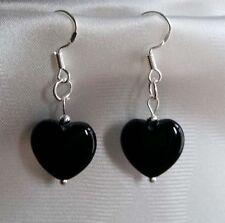 Onyx Beauty Hook Costume Earrings