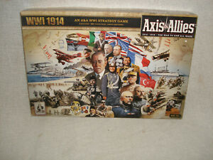 Axis and Allies WW1 1914 board game  Excellent Usedcondition