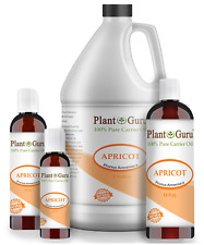 Apricot Kernel Oil Cold Pressed 100% Pure Natural Organic 2 OZ TO 7.5 lbs. Bulk