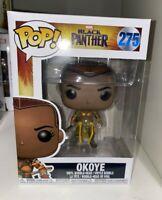 Funko Pop! Okoye #275 Marvel Black Panther Avengers + Pop Protector