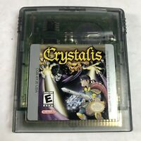 Authentic Crystalis (Nintendo Game Boy Color, 2000) Game Cart Tested Rare