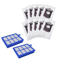 Hepa Filter S Bag Kits for Philips Electrolux Fc8220 Fc8031 Vacuum Cleaner U5T2