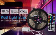 SUPERNIGHT® 5M 300Leds RGB 5050 LED Strip Rope Light Waterproof+44Keys Contoller