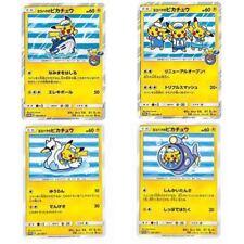 Japanese Pokemon, Yokohama Pikachu 4 Cards Set 280/SM-P~283/SM-P Promo