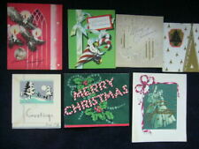 Season's Greetings Best Wishes at Christmas~ 7 Vintage Christmas Greeting Cards