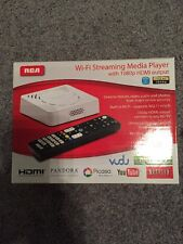 RCA Wi-Fi Streaming Media Player With 1080p HDMI Output White