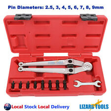 Adjustable Face Pin Wrench Spanner 2.5, 3, 4, 5, 6, 7, 8, 9mm High Quality
