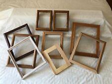 Lot of Vintage Wooden Open Picture Frames