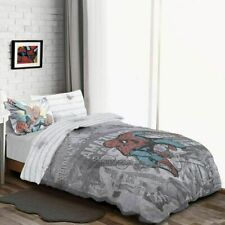 Marvel Spiderman Single Duvet Set 'Comic Group'