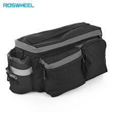 ROSWHEEL 6L Multifunctional Bike Bicycle Bag Cycling Rear Rack Tail Seat Pannier