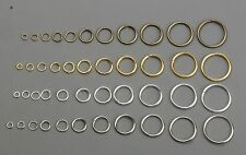 Open jump rings Alloy jewery findings in 4/5/6/7/8/10/12/14/16/18/20mm 8-colors