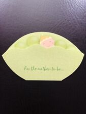 New! 7 Baby Shower Invitations With Envelopes Sweet Little Pea Never Used!!