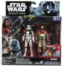 Star Wars Rogue One BAZE MALBUS vs IMPERIAL STORMTROOPER Figures 2 Pack New