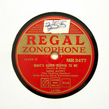 "GENE AUTRY ""What's Gonna Happen To Me"" (E+) REGAL ZONOPHONE MR-3477 [78 RPM]"