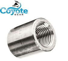 "3/4"" NPT 304 Forged Stainless Pipe Thread Female Coupling 3000# Coyote Gear SS"