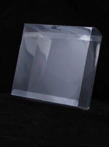 10 Clear Plastic Transparent Acetate Gift Boxes * Brand New  16cm x 16cm x 6.5cm