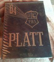 Vintage Meriden Connecticut Orville H. PLATT High School 1964 Yearbook