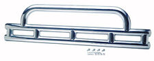 """Front Bumper Double Tube 3"""" Polished Stainless Jeep Wrangler YJ 1987-1995 30446"""