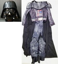 Star Wars Deluxe Darth Vader Child Dress Up Costume Medium w Cape & Mask Rubies