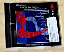 Windsongs: Music for Bass Clarinets, Clarinet & Wind Orchestra (CD, Vienna Moder