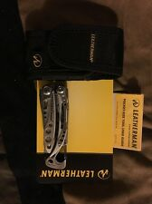 LEATHERMAN Stainless SKELETOOL Multi-Tool Plier Knife CUTTERS + Sheath! 830865