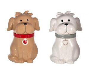 Biscuit Barrel Cookie Jar Large Kitchen Storage Jar Ceramic Gift Dog Lover Owner