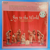 ROBERT SHAW CHORALE JOY TO THE WORLD LP SHRINK GREAT CONDITION! VG++/VG++!!