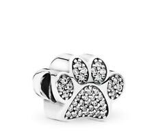 Genuine Pandora Sterling Silver S925 ALE Dog lover PAWS charm