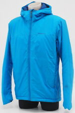 Patagonia Men's Insulated Micro Puff Water Resistant Insulated Hoody Medium Blue