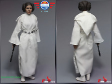 IN STOCK 1/6 Star Wars IV A New Hope Princess Leia Head Costumes Set for 12''