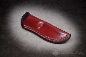 Spyderco Knives 'The Intolerable' Custom Leather Bushcraft Sheath