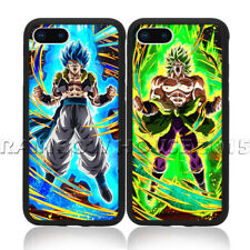 Dragon Ball Z Super Saiyan Goku Broly VS Gogeta Phone Case For iPhone XSM Cover