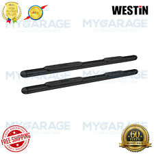 "Westin For 01-12 Ford Escape/07-11 CR-V Oval Steps 4""Black Powder Coated 22-5065"