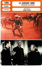 FICHE CINEMA : LE SERGENT NOIR - Hunter,Towers,Ford 1960 Sergeant Rutledge