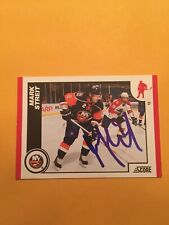 Mark Streit Signed New York Islanders Card A
