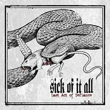 Sick Of It All - Last Act Of Defiance [CD]