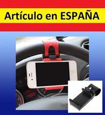 PINZA SUJECION VOLANTE MOVIL smartphone MOTO gps BICI luz coche soporte iphone N