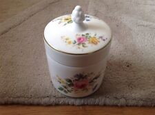 1 Jar with Lid by Royal Doulton Arcadia Pattern H 4802