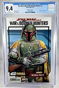 Star Wars War of the Bounty Hunters #1 Cassaday Boba Fett Variant CGC 9.4