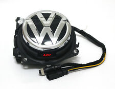 Car Flipping Logo Rear view VW Logo Reverse Camera For Volkswagen GOLF 7 MK7 VII
