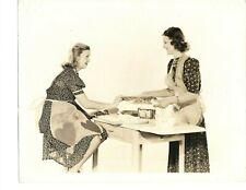 1930s CECILIA PARKER & MARY HOWARD  EXQUISITE GLAMOUR VINTAGE ORIGINAL PHOTO 146