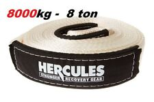 Hercules - 8000kg Snatch Strap Tow Rope Extension 4WD Recovery