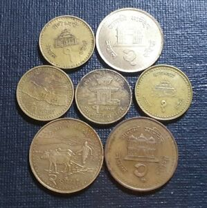 Nepal coins