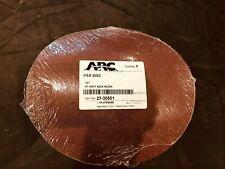 "Pack 5 ARC 10"" Diameter PSA 60 Grit Aluminum Oxide Sanding Disc Peel Stick New"