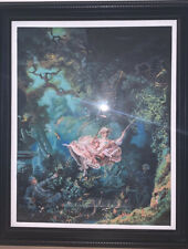 The Swing - Recreated by Jasmin Benitez 16x20 Acrylic On Canvas (Framed)