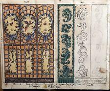Gouache Originale Art Deco RAPHAEL DELORME (1885 1962) Projet Paravent Jansen