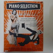 piano selection SILK STOCKINGS cole porter
