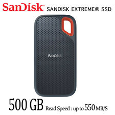 SanDisk Portable SSD 500G External Solid State Drive SDSSDE60 with Tracking