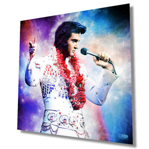 """Elvis """"The King"""" - wall art poster - Size 420mm x 420mm"""