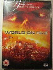 World On Fire: This Time, There's No Escape (DVD, 2012) NEW SEALED PAL Region 2